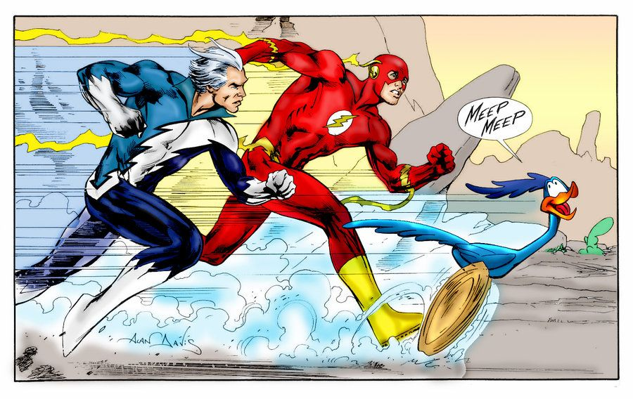 Photo of The Flash Vs. Quicksilver – Superfight #3