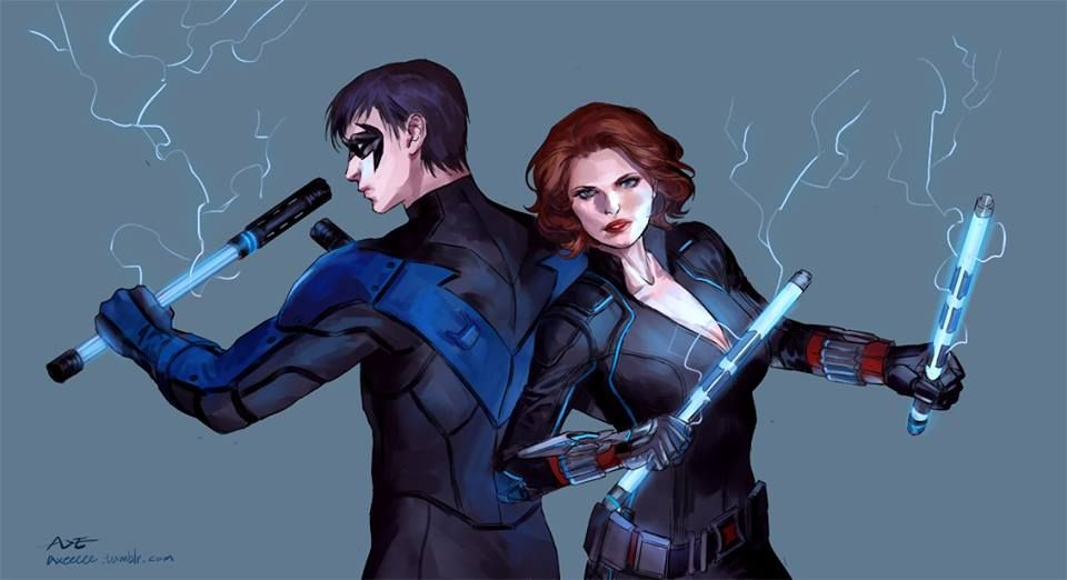 Photo of Nightwing Vs. Black Widow – Superfight #4