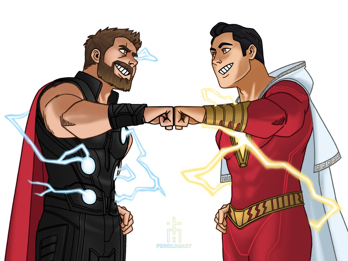 Photo of Thor Vs. Shazam – Superfight #2