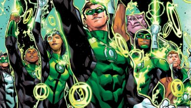 "Photo of ""Green Lantern"" TV Series Revealed for HBO Max"