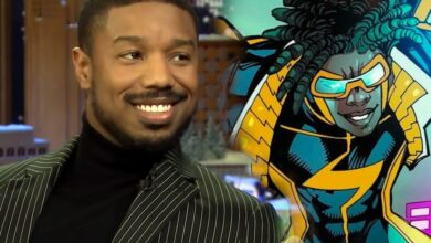 "Photo of Michael B. Jordan to Produce A ""Static Shock"" DC Movie"